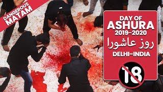 The Day of Ashura 2019-2020 | روز عاشورا  | मुहर्रम | Delhi | मातम | ज़ंजीर का मातम | لبّیک یا حسین