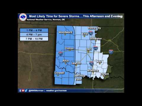 NWS Norman Severe Weather Briefing 1030am 5/16/15