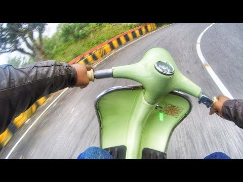 Classic Vespa Scooter ride - Nandhi Hills - GoPro Quik Story