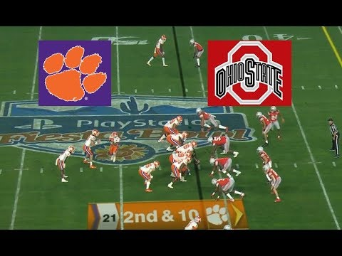 Ohio State vs Clemson Football Bowl Game 12 28 2019