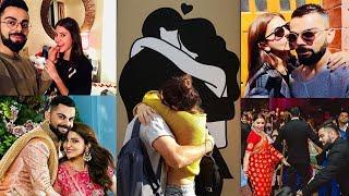 1st wedding anniversary Happy moments of Anushka Sharma and Virat Kohli