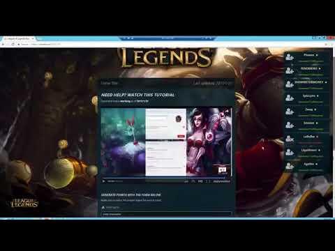 League of legends tutor