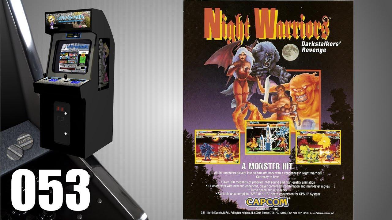 Night Warriors: Darkstalkers' Revenge [053] Arcade Longplay ...