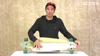 "Globe Prowler Bamboo 38"" Complete Longboard Review - Tactics.com"