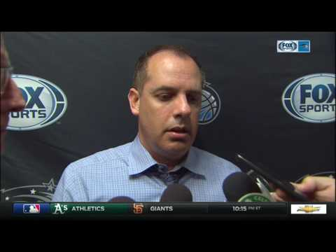 Frank Vogel -- Orlando Magic at Boston Celtics 03/31/2017