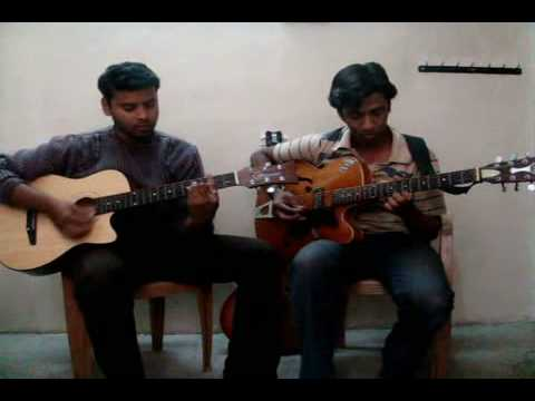 pukarta chala hu main guitar intro & chords - YouTube