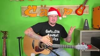 Gitarre lernen - Ihr Kinderlein kommet - Weihnachtslieder für Anfänger und Kinder