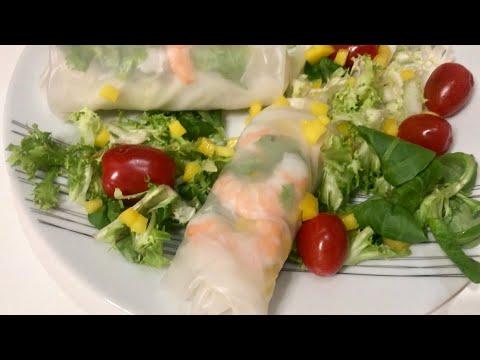 rouleaux-de-printemps-(sucré-salé)-:-crevettes-et-mangue