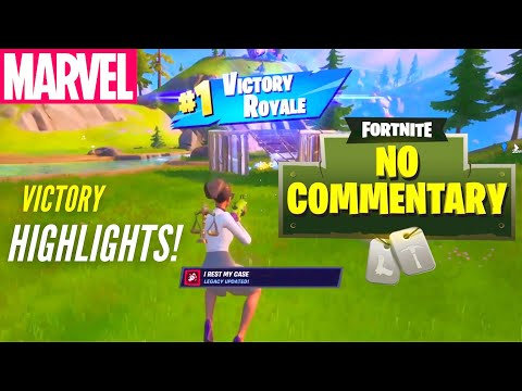 Action Packed Fortnite Victory Highlights No Commentary