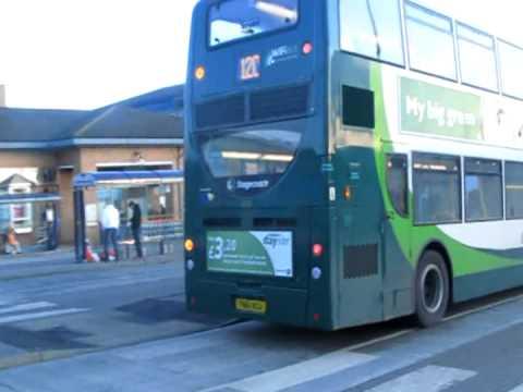 Route 120 Stagecoach South Yorkshire Sheffield Dennis Trident 2 Hybrid Enviro 400 12105 Yn61 Bgu