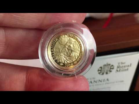 Royal Mint Britannia 2010 Gold Proof is a welcome addition to the collection