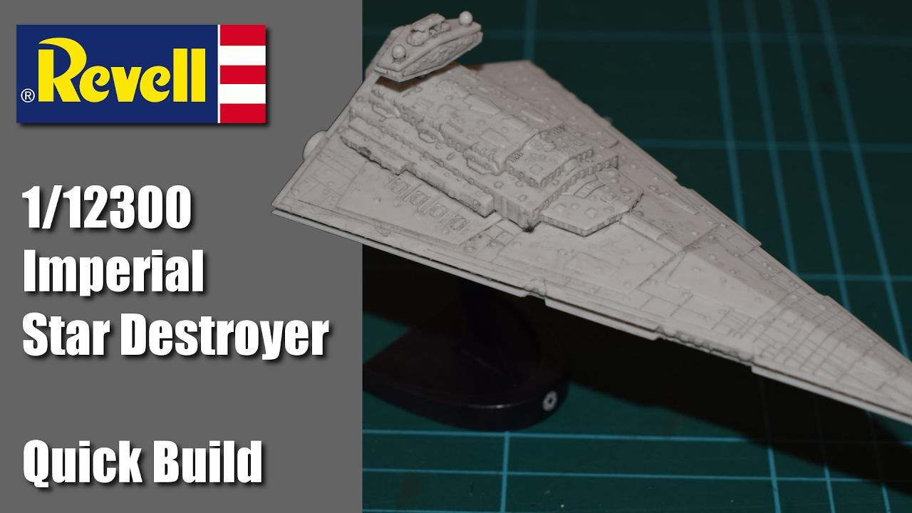 New Revell 03609 1:12300 Imperial Star Destroyer Model Kit