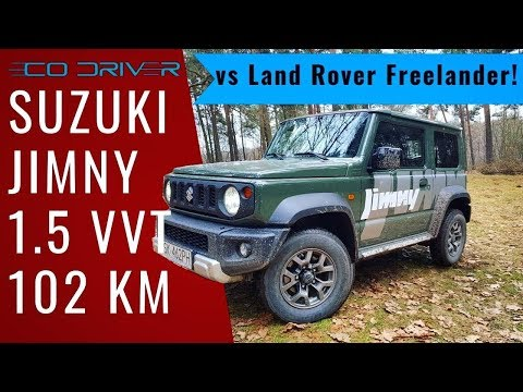Suzuki Jimny 1.5 2018 vs Land Rover Freelander! TEST PL