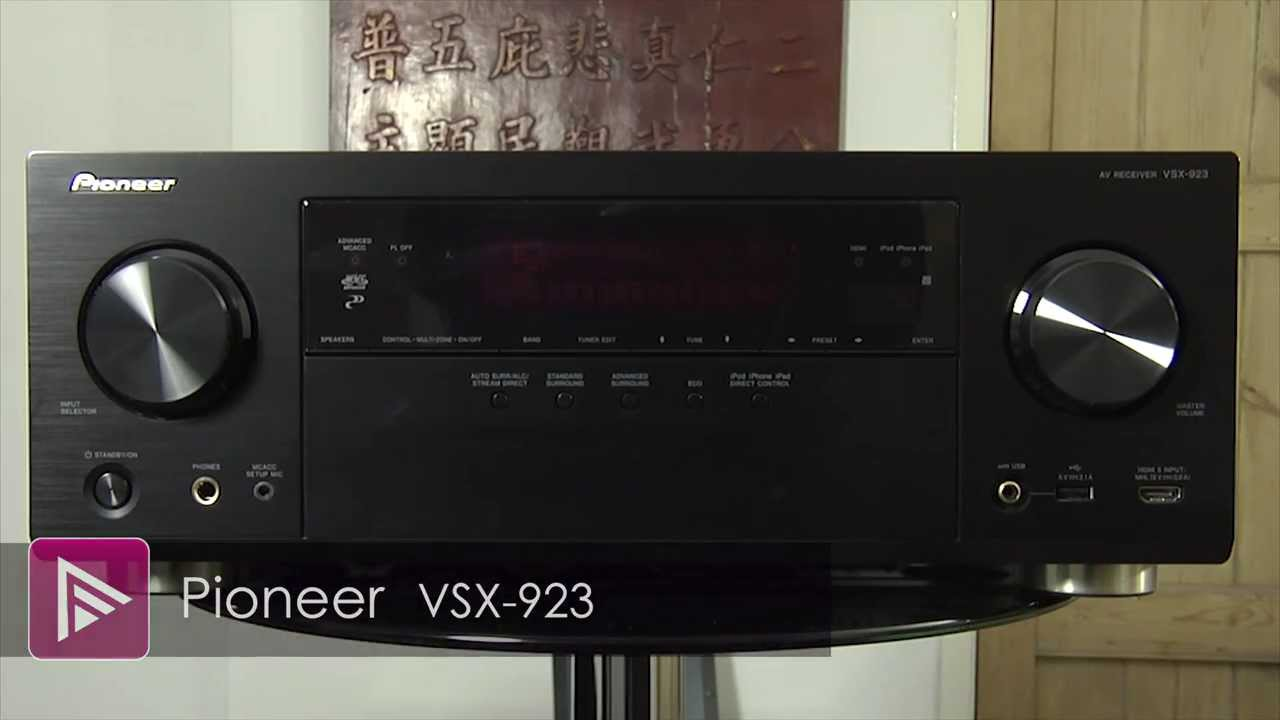 PIONEER VSX-923-K AV RECEIVER WINDOWS 8 DRIVER