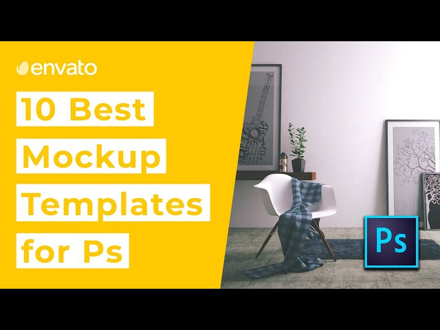 10 Best Mockup Templates for Photoshop [2019]