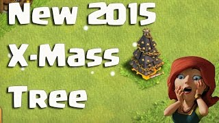 New 2015 X-Mass Christmas Tree | Brown Barbarian Clash of Clans