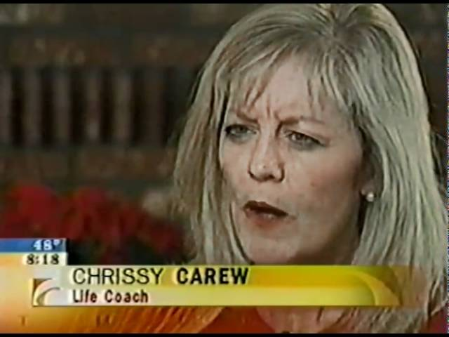 Chrissy Carew on CBS' The Early Show