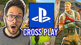 PLAYSTATION TO DECE! The Cross-Play Fortnite announced! (Packs and Season 6)