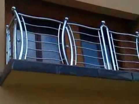 Treppen Gelander,najlepse ograde za kuce,terase,stepeniste,balkone - YouTube