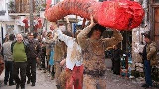Μουνάκι μοσχοαναθρεμένο - Καρναβάλι Αγίας Άννας