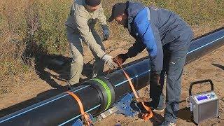 видео Сварочные аппараты для полиэтиленовых труб