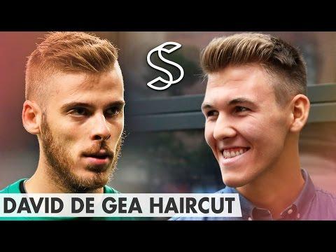 Short Hair Side Part ★ David De Gea Quiff Hairstyle ★ Men's haircut