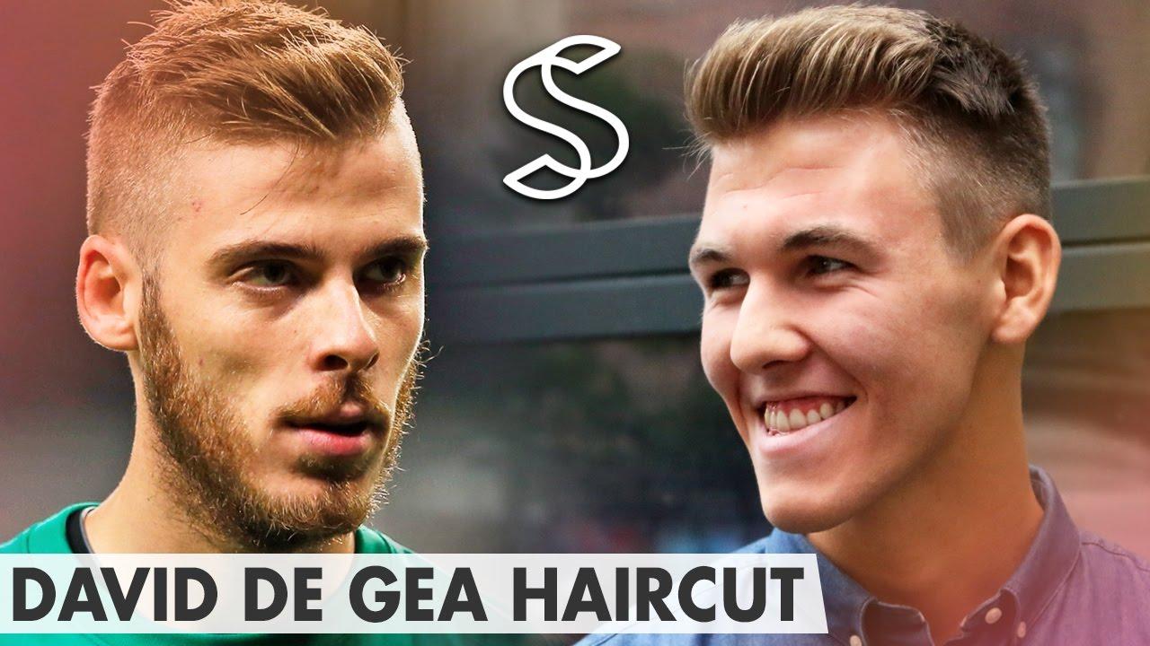 Short Hair Side Part David De Gea Quiff Hairstyle Mens Haircut