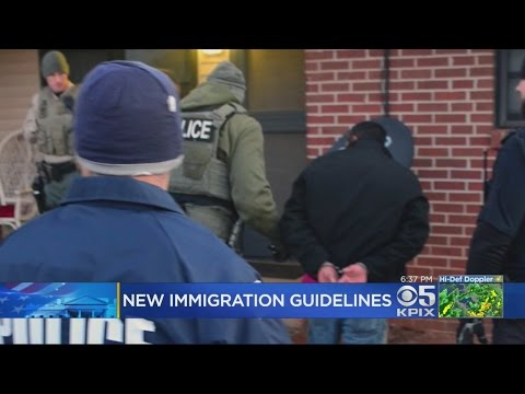 Department Of Homeland Security Releases New Guidelines On Border Security And Immigration