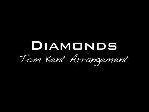 Backing Track: Rihanna - Diamonds (Tom Kent Arrangement) Backing Track/Karaoke/Instrumental