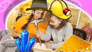 فوزي موزي وتوتي | فقرة المندلينا | لعبة العلماء الصغار | The little Archaeology