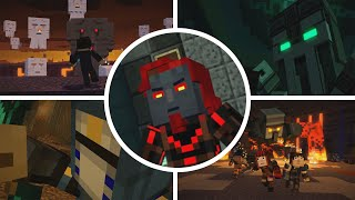 Minecraft Story Mode (Season 2) - All Bosses
