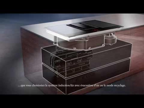 la meilleure attitude 3337b 9f308 Table de cuisson avec ventilation intégrée Siemens ...