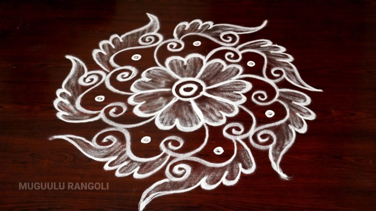 simple easy rangoli designs daily rangoli designs without dots daily muggulu designs friday kolams #1