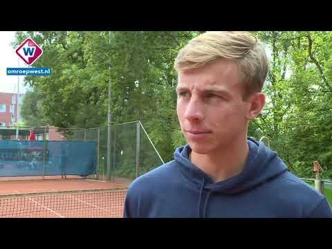 Interview tennisser Tallon Griekspoor over Davis Cup