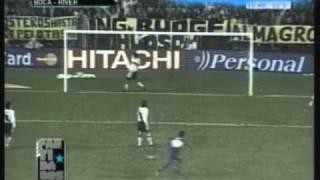 Boca 3 River 0 Libertadores 2000 (Resumen Completo )
