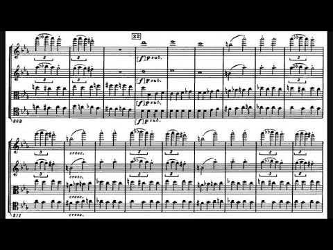 Shostakovich - String Quartet No. 8 with score - Borodin String Quartet