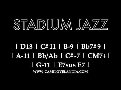Backing Tracks - Stadium Jazz