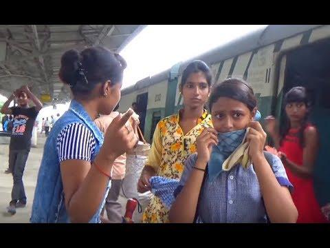 UP Howrah Bandel Local just Entering Hooghly Railway Station