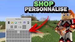 Personnaliser le shop villageois/PNJ [1.8-1.15 et +] [Crée un serveur de A à Z en Command Block]