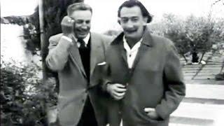 1957 Walt Disney Visits Salvador Dali in Spain - Walt Disney visita a Dalí en España - 2 Genios