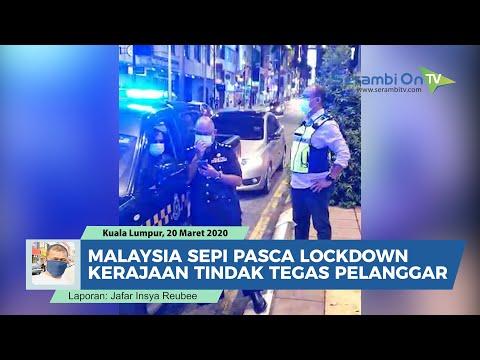 Malaysia Sepi Setelah