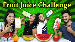 FRUIT JUICE CHALLENGE | TWISTED JUICE DRINKING CHALLENGE