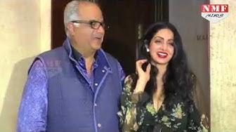 जब Sridevi ने Publicly Boney Kapoor को किया था प्यार भरा KISS