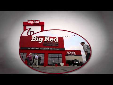 Commercial Motion Graphics   Big Red Furniture Store