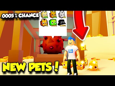 I Tried Getting The RAREST GOLDEN PET In The New Desert Egg In Pet Simulator 2!! (Roblox)