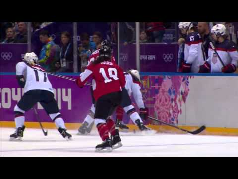 """""""...one of the greatest rivalries in sports."""" CANADA vs. USA women's hockey"""