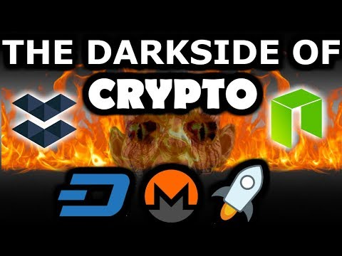 The Darksides of Crypto. You Need To See This! Trust Me On This One...No One Talks About It!