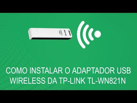 Como Instalar O Adaptador USB Wireless TP-Link TL-WN821N [RESOLVIDO]