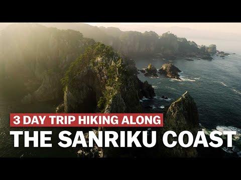 3 Day Trip Hiking the Michinoku Coastal Trail along the Sanriku Coast