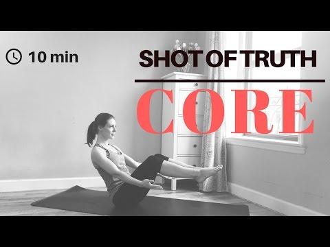 10 min CORE Christian Yoga Practice